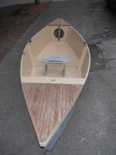 12 ft drift boat, fishing boat, Bolger Teal